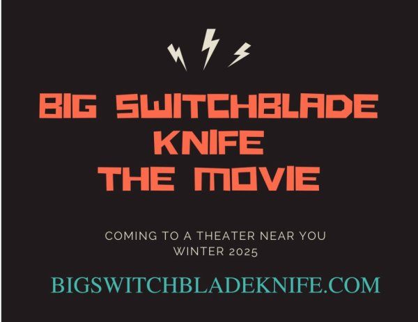 Big switchblade knife the movie