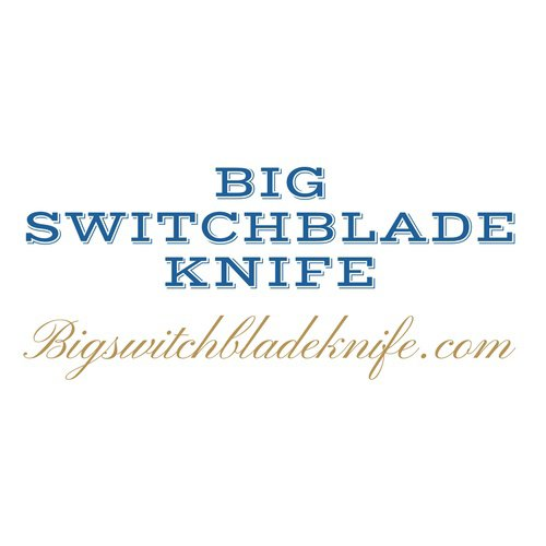 Big Switchblade Knife