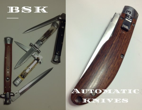 Switchblade Automatic knife 13 inches total length
