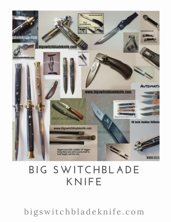 Switchblades for sale.