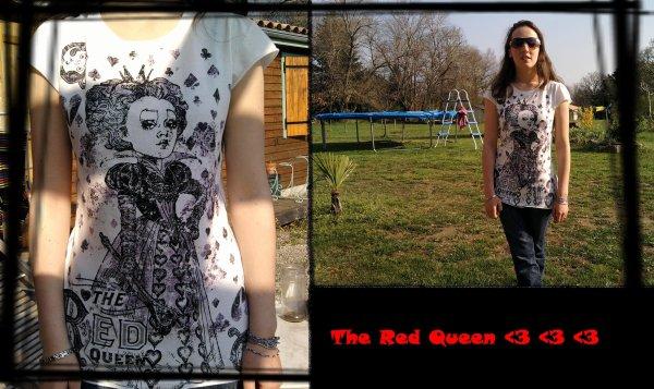 Mon T shirt de la reine rouge =D