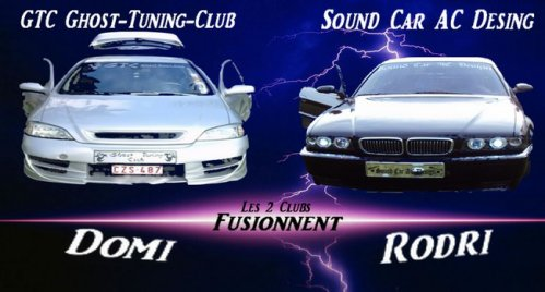 Fusion du GTC ghost tuning club avec  Sound car ac design