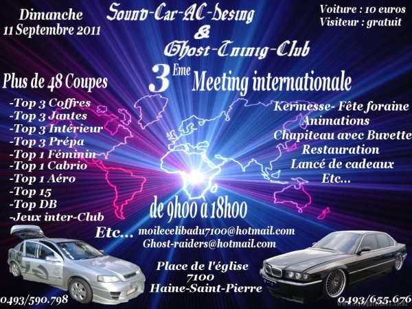 Sound-Car-AC-desing  et Ghost-Tuning-Club