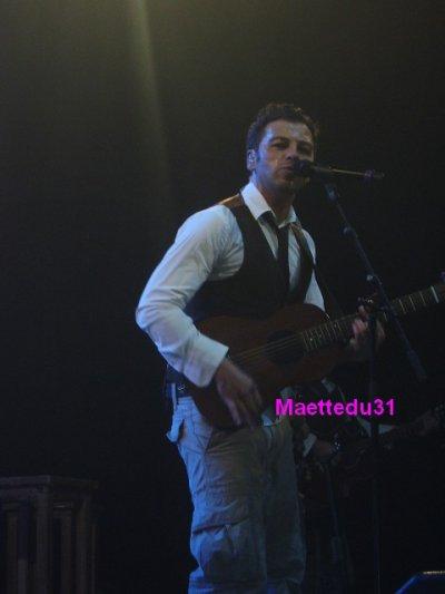Jeudi 4 décembre 2008, partie acoustique de la grand tournée, Zénith de Toulouse