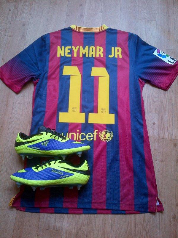 promo codes cute superior quality Maillots & Crampons de Neymar Da Silva Santos Junior. - Blog ...