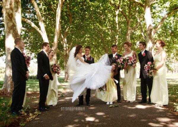 . 06 Janvier 2007 Casey et Adriana se marient à Adélaide. .