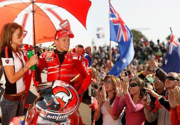 . 14 Octobre 2007 Grand Prix d'Australie sur le circuit de Phillip Island. .