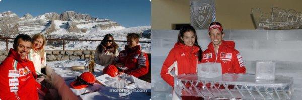 . 18 Janvier 2007 Casey et Adriana sont en Italie pour le Wrooom. .