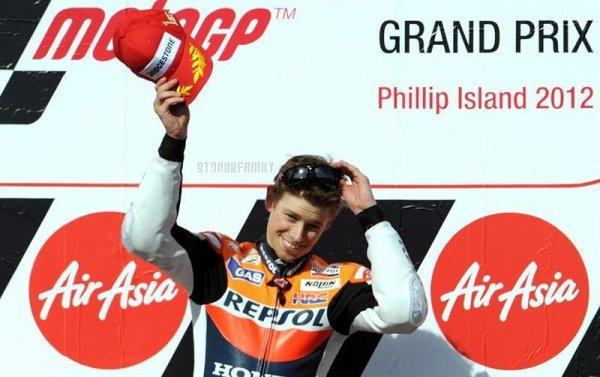 . 28 Octobre 2012 Grand Prix d'Australie sur le circuit de Phillip Island. .