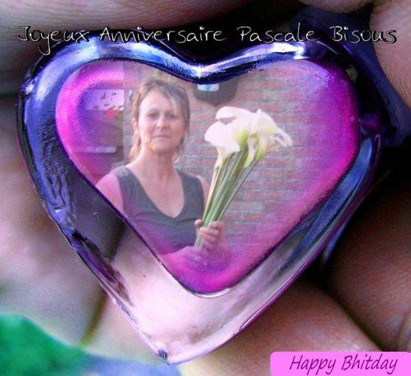 Joyeux Anniversaire Pascale ! ♥