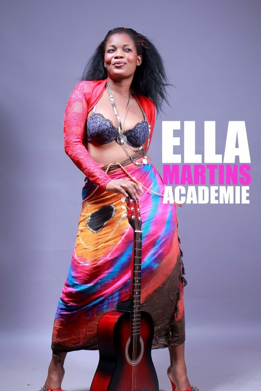 Ella Martins in grand style