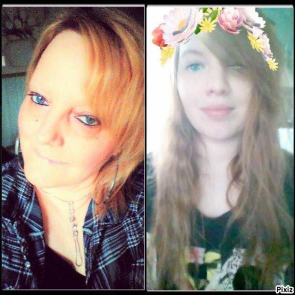 ma fille et moi méme <3