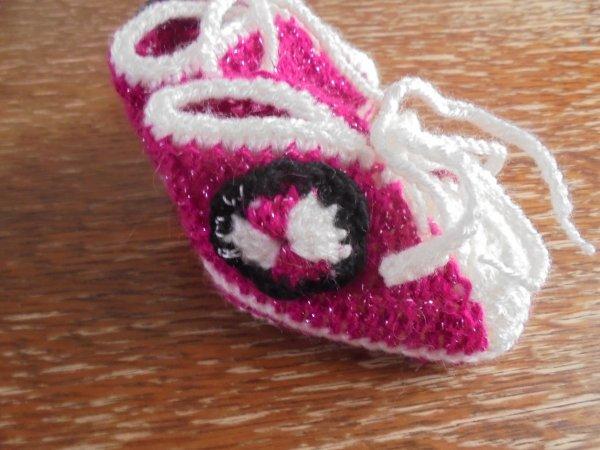 Petites baskets pour petites princesse