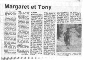 Tour pédestre de Cassis 1983