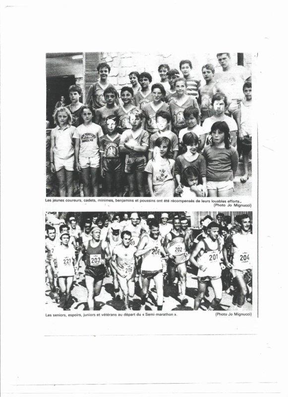 Photos de la course LECCI VIVU du 8 juillet 1989