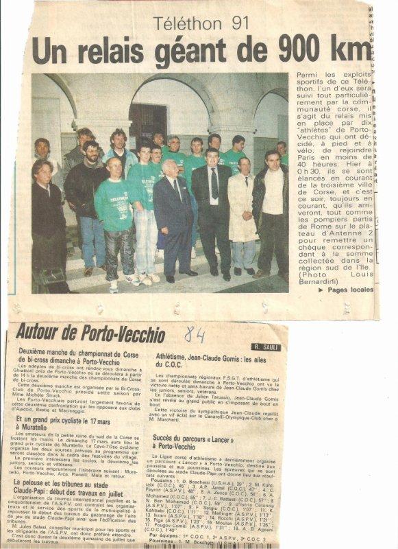 Telethon 1991 & infos 1984