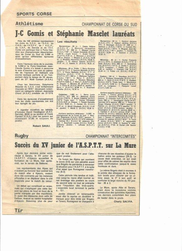 Départementaux de Corse
