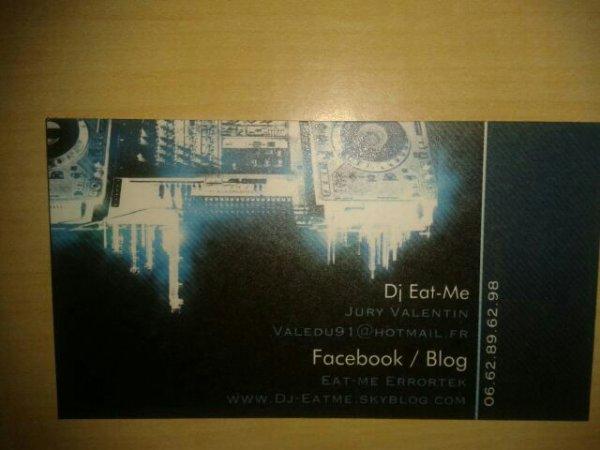 Ma carte :)
