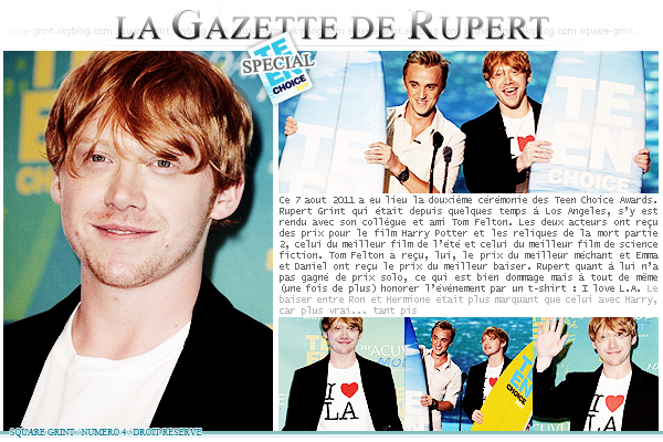+ //-- MY GINGER WIZARD -- // LA GAZETTE DE RUPERT (4)/////////////////////////////////////////////// / posted on August 20th
