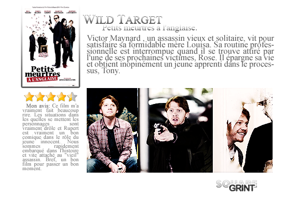 + //-- MY GINGER WIZARD -- // MOVIE : WILD TARGET ! /////////////////////////////////////////////////// / posted on July 18th