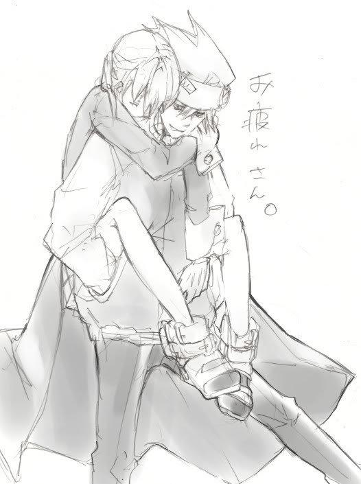 Autres images du duo Soul♥Maka