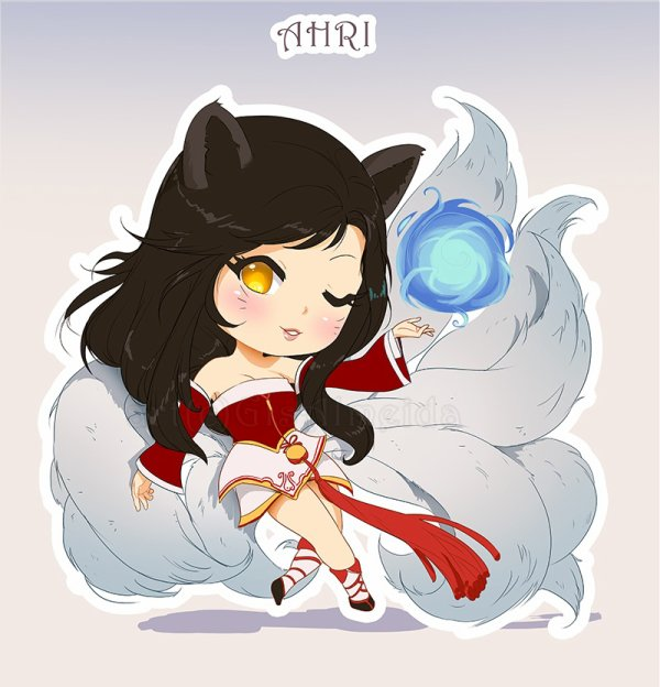 league of legend- ahri