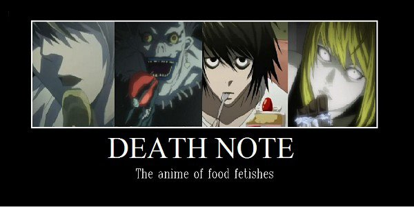 death note poster de motivation