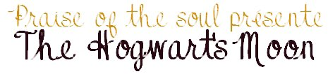 The Hogwart's Moon par Laurianne