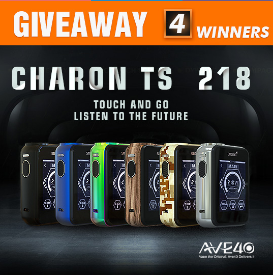Giveaway!!! Free to get Smoant Charon TS 218 (More surprise)