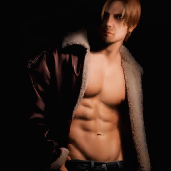 Nothing to say. Leon Scott Kennedy -