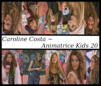 Caroline - Animatrice Tv
