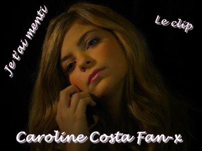 Caroline - Son tout premier clip ♥