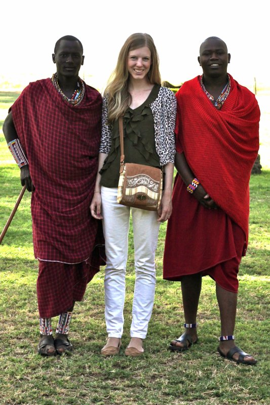 Journie Handbags chats with Laura Swanson in Nairobi, Kenya