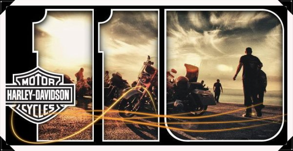 Anniversaire de Harley-Davidson 110 Ans