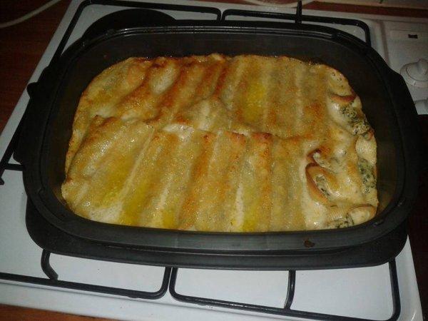 Cannellonis saumon ricotta pinard tout le monde peux - Cuisiner saumon surgele ...