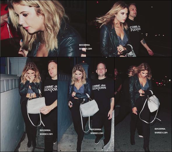 * 22/07/13 : C'est une Ashley qui à l'air fatiguée qui se rendait à son cours de Pilate à West H. Dans la soirée,notre blondinette préférée s'est rendue à la soirée d'anniversaire de son amie Selena Gomez. *