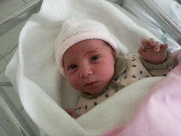 ma niece a sa naissance