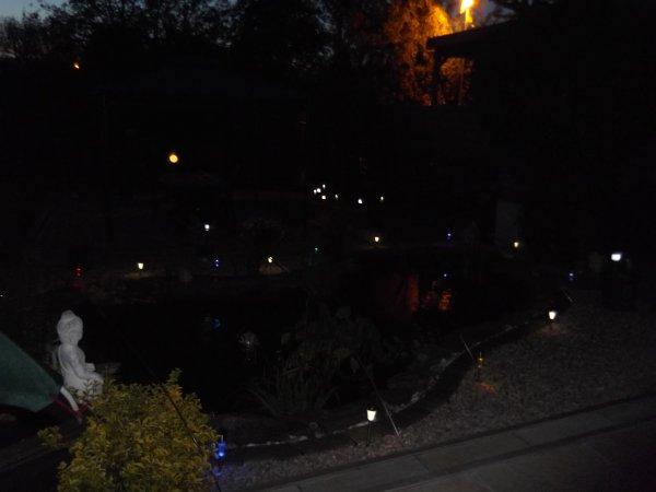 le soir eclairé