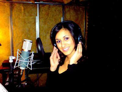 Loreen en studio ;)