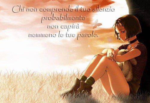Celui qui ne comprend pas ton silence, ne comprendra probablement pas plus tes paroles.