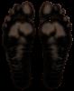 Feet in the dark