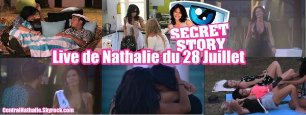 Live de Nathalie du 28 Juillet