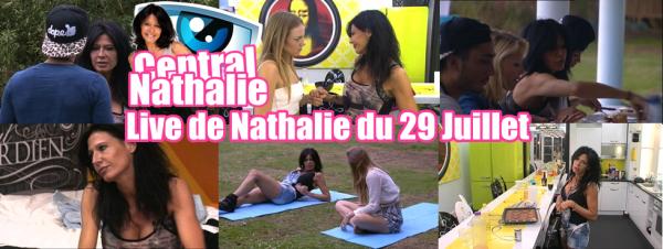 Live de Nathalie du 29 Juillet