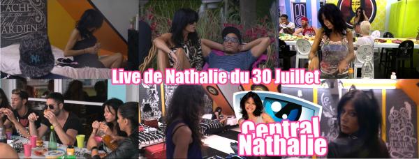 Live de Nathalie du 30 Juillet