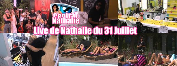 Live de Nathalie du 31 Juillet