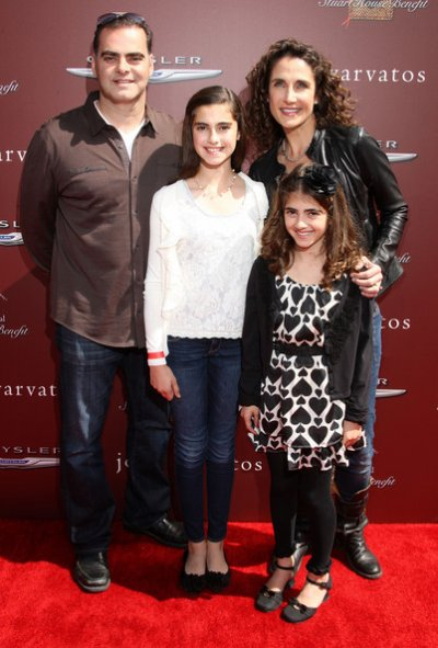 Melina Kanakaredes et sa famille