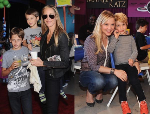 Jessica Capshaw & Kim Raveret leurs fils - Blog de babys ...