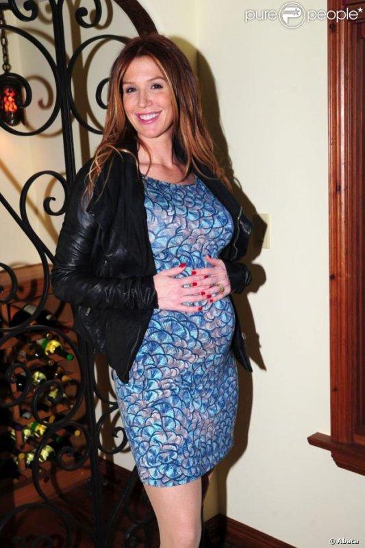 Poppy Montgomery enceinte de son deuxème enfants