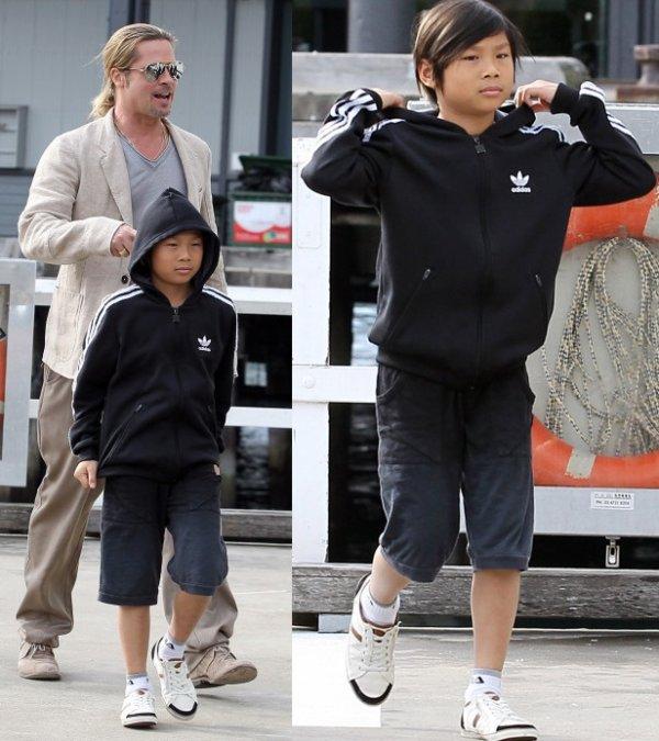 Brad Pitt et Pax