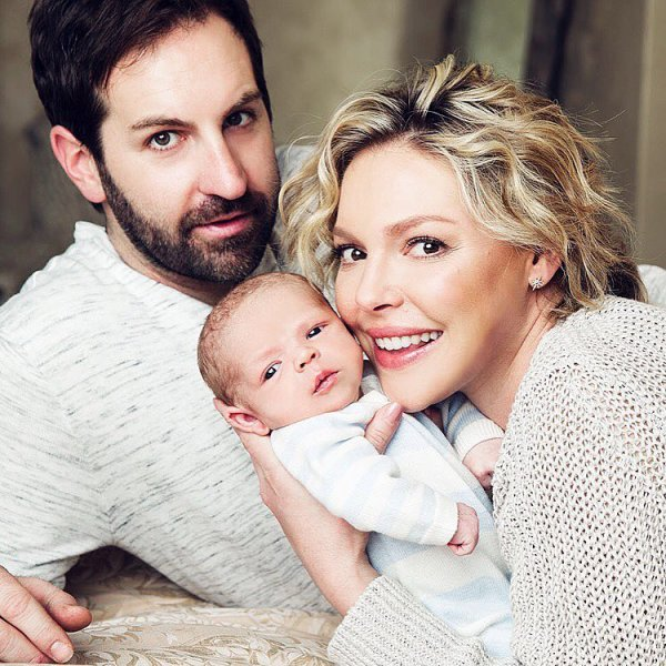 Katherine Heigl et Josh Kelley présente leur petit garçon